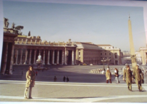 Judy at the Vatican, 71-72