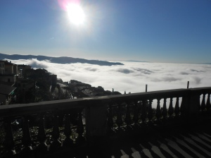 Valdichiana in the fog - 18 Dec 2012 2