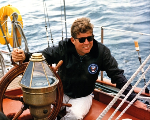 John F. Kennedy Material released by the National Archives in Washington