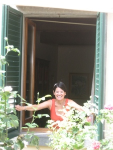 Judy in window