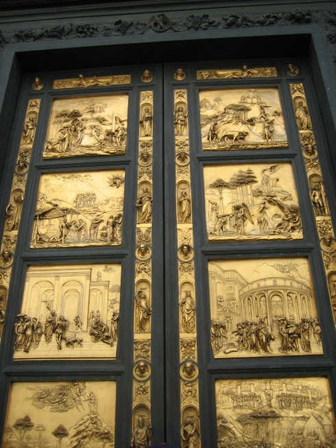 Baptistry doors - blogginginitaly.com