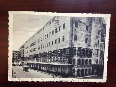 Napoli  1937 - Nuova Palazzo RR. Paste - Lata posteriore