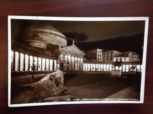 Naploi - Piazza Plebiscito e Basilical S. Francesco Di Paola