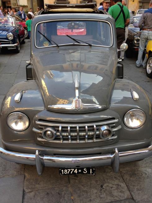 Vintage Fiat, Cortona, Blogginginitaly.com