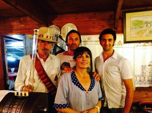 Franco, Gianluca, Ornella, Andrea -  ©Blogginginitaly.com