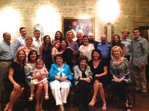 June '15 Benita's Graduation - 4 generations