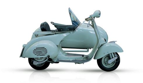 Vespa.com Vespa 150 Side-Car-1955