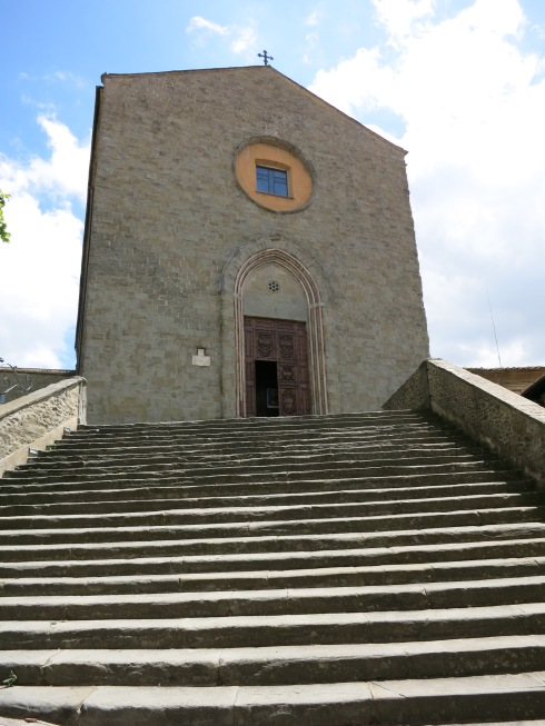 Chiesa di San Francesco, Cortona, ©Blogginginitaly.com