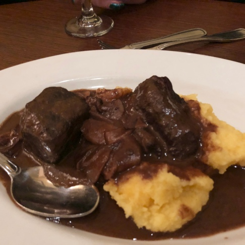 Beef short ribs over polenta ©blogginginitaly.com